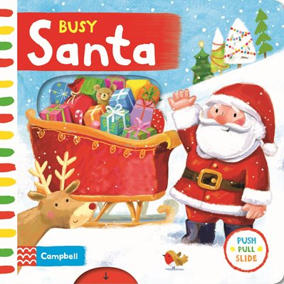 Book cover for Busy Santa